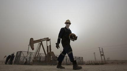 Padidėjus įtampai tarp JAV ir Irano, naftos kainos toliau kopia aukštyn