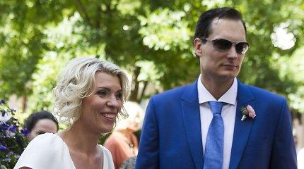 """Bankrutuojančios """"Small Planet Airlines"""" akcininkas Vytautas Kaikaris išsiskyrė su žmona Greta Vaitkute"""
