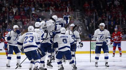 """""""Lightning"""" pergale pradėjo NHL Rytų konferencijos finalo seriją"""