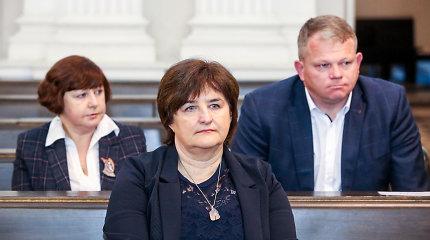 Seimo BFK biuro vedėja A.Brazdilienė teisme prisiminė, kokio skambučio sulaukė iš L.Graužinienės