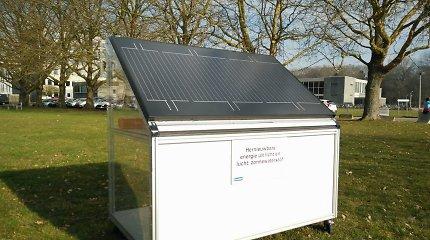 Energetinė nepriklausomybė namams: sukurta vandenilinė sistema, namų ūkį aprūpinanti ir elektra, ir šiluma