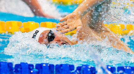 Lietuvos rinktinė Europos plaukimo čempionate – be Dano Rapšio