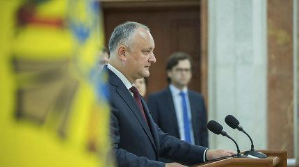 Krizė gilėja: Moldovos prezidentas I.Dodonas atsisako paleisti parlamentą
