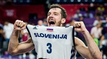 Paskutinis žodis: Slovėnijos žvaigždė nurodė priežastis, kodėl jo nebus Kaune