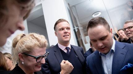 Konservatoriai laukė rinkimų rezultatų: optimizmas liejosi per kraštus