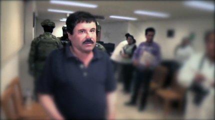 Meksikiečių narkotikų baronas apskundė kalėjimo iki gyvos galvos bausmę