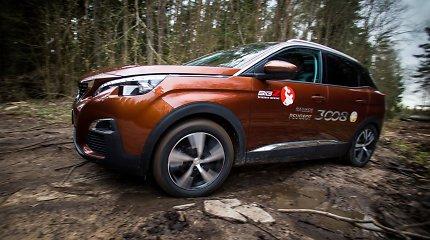 """Kaip """"Peugeot"""" įrodė, kad visureigiui pakanka ir dviejų varomų ratų?"""