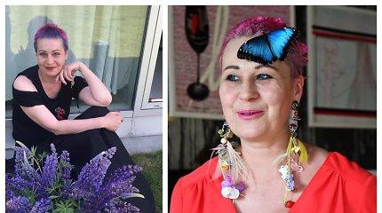 """50-metį mininti menininkė Jūratė Rekevičiūtė įveikė antros stadijos krūties vėžį: """"Švęskime gyvenimą"""""""