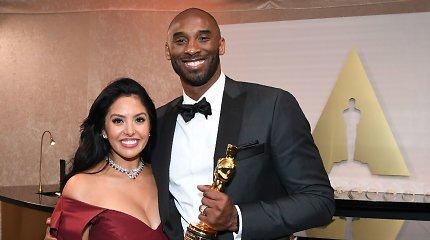 Kobe Bryantas su žmona Vanessa