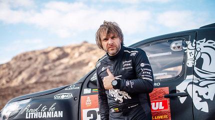 Ką bendra turi Dakare nugalėjęs Carlosas Sainzas ir Benediktas Vanagas?