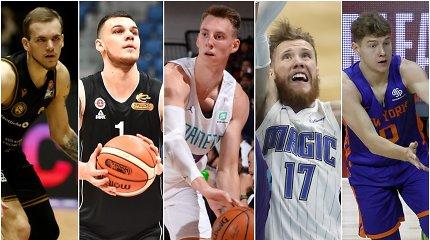 Lietuvių pasirodymai NBA Vasaros lygoje: menki blykstelėjimai ir tuščias vicečempionas