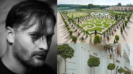 Mantas Petruškevičius į Vilnių perkėlė autentiškus Versalio rūmų sodų akcentus