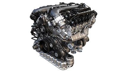"""""""Volkswagen"""" pristatė naujus variklius, tarp kurių 200 kW generuojantis 1,0 l motoras"""