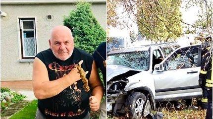 Girtas V.Ušacko brolis įtariamas Ukmergėje sukėlęs avariją, kurioje prieš pat 87-ąjį gimtadienį žuvo jų motina