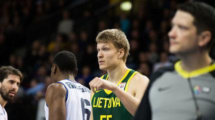Lietuvos rinktinės kandidatas dalyvaus dviejų NBA klubų stovyklose