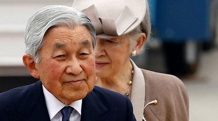 Imperatoriaus Akihito pasitraukimas pradės naują Japonijos erą