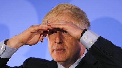 """B.Johnsonas: Jungtinei Karalystei """"Brexit"""" be sutarties atveju reikės ES paramos"""