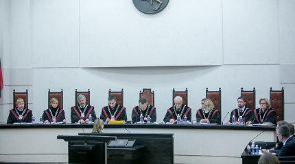 Konstitucinis Teismas skelbs nutarimą byloje dėl užsienyje susituokusių gėjų teisių