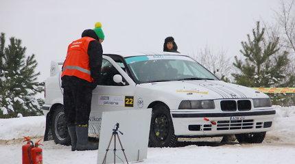 """Didžiausias """"RR Team"""" praradimas """"Winter Rally"""" varžybose – dingęs šturmanės balsas"""