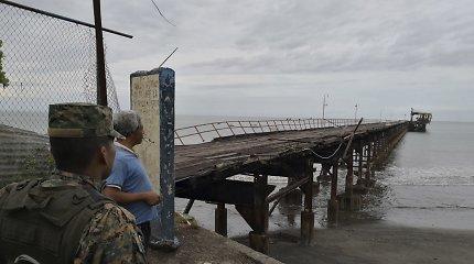 Per 6,1 balo žemės drebėjimą Panamoje nukentėjo penki žmonės