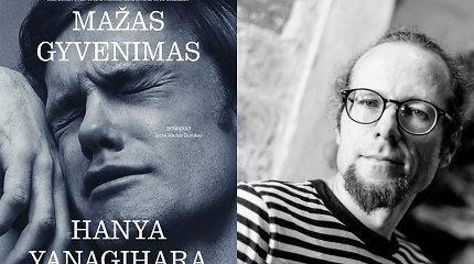 """Marius Burokas apie romaną """"Mažas gyvenimas"""": tai knyga apie draugystę ir vienatvę – be iliuzijų, kosminėje tuštumoje"""
