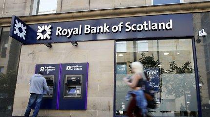 Didžiosios Britanijos vyriausybė ketina parduoti 7,7 proc. RBS akcijų
