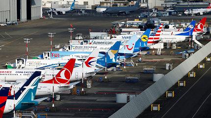 """""""Boeing"""" siekia gauti 10 mlrd. JAV dolerių paskolą problemoms dėl """"737 MAX"""" spręsti"""