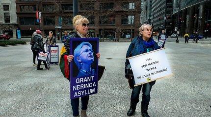 Po nepalankaus NeringaiVenckienei JAV teismo sprendimo – kliūtys likti Amerikoje