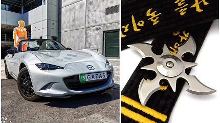 """Nindzė iš Japonijos: ketvirtos kartos """"Mazda MX-5"""" aštri lyg šurikenas"""
