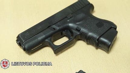 Šalčininkų rajone rastas neteisėtai laikytas dujinis pistoletas