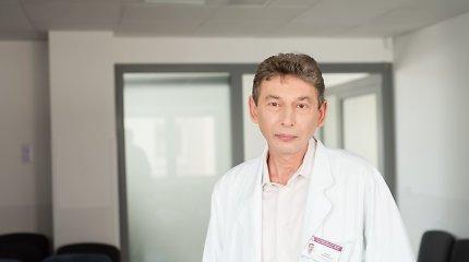 Kaulų čiulpus persodinantis I.Trociukas prie mirčių nepripranta: pradžioje tarp medikų būdavo net savižudybių