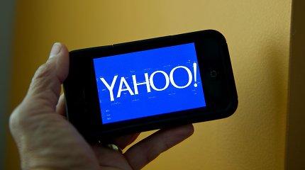 """""""Verizon"""" pranešė parduosianti """"Yahoo"""" ir AOL už 5 mlrd. JAV dolerių"""