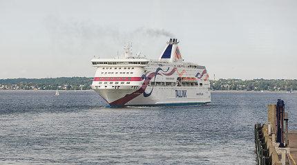"""""""Tallink"""" neplanuoja šiemet atnaujinti keltų maršruto Ryga–Stokholmas"""