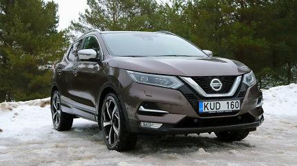 """Atnaujintas """"Nissan Qashqai"""": po sena išore slepiasi naujas variklis"""