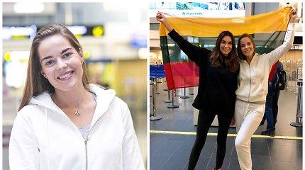 """Lietuvos atstovė """"Misis pasaulis"""" Gretė Brokienė išvyko į Kiniją: kartu su ja – broliai Lavrinovičiai"""