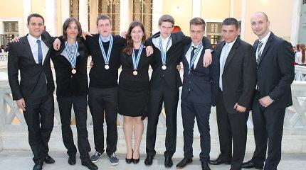 Tarptautinėje gamtos mokslų olimpiadoje – sidabras ir bronza Lietuvos moksleiviams