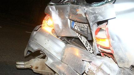 Panevėžio rajone susidūrus automobiliams nukentėjo nėščioji