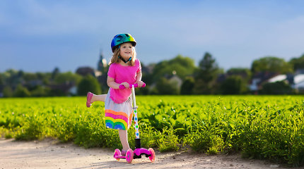 Kad ruduo prasidėtų be streso – smagios saugaus eismo pamokėlės Ozo parke
