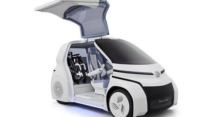 """Koncepcinis """"Toyota"""" modelis atspės, kaip jaučiasi vairuotojas"""