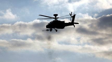 Pietų Izraelyje per kariuomenės sraigtasparnio avariją žuvo jo pilotas