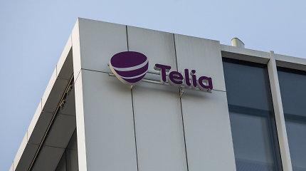 """""""Telia"""" trečio ketvirčio pelnas išaugo 6,3 proc."""