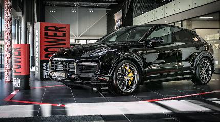 """Naujausia """"Porsche Cayenne Coupé"""": kainos, varikliai ir sėkmės receptas"""
