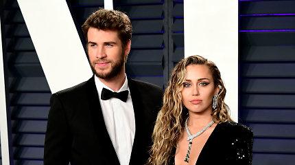 Miley Cyrus ir Liamo Hemswortho santykių akimirkos