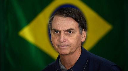 """""""Amnesty International"""" pažėrė kritikos Brazilijos ultradešiniųjų prezidentui J.Bolsonaro"""