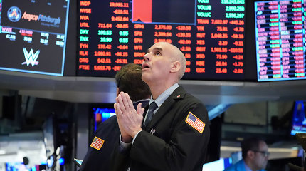 """""""Dow Jones"""" ir S&P 500 ketvirčio pradžia – prasčiausia jų istorijoje"""