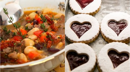 Savaitgalio valgiaraštis: rimtieji patiekalai iš ankštinių, o desertui – sausainiai