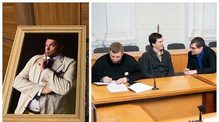 """Teismas Vilniuje mėgina įsiklausyti į mirusio humoristo V.Cololo argumentus """"Zero show"""" reklamos byloje"""