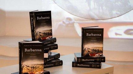 """Roberto Petrausko knygos """"Barbarosas"""" pristatymas"""