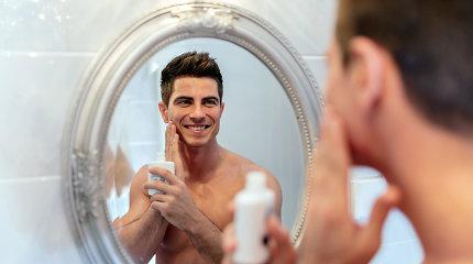Kokias klaidas daro vyrai, prižiūrėdami savo odą?