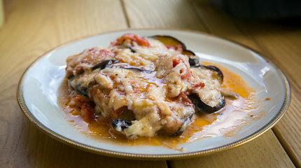 Itališki ir itališko stiliaus patiekalai su baklažanais: 12 receptų